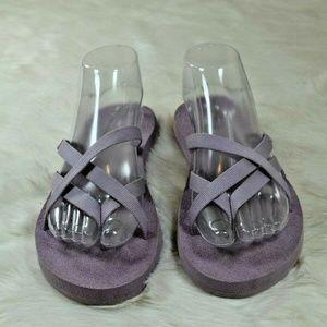TEVA Olowahu Mush Lilac Purple Flip Flop Sandals